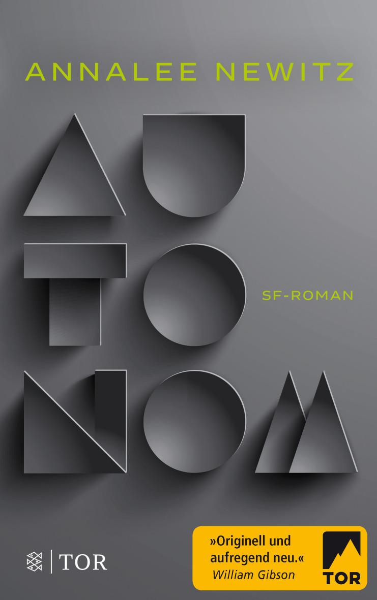 """""""Autonom"""" Book Cover"""