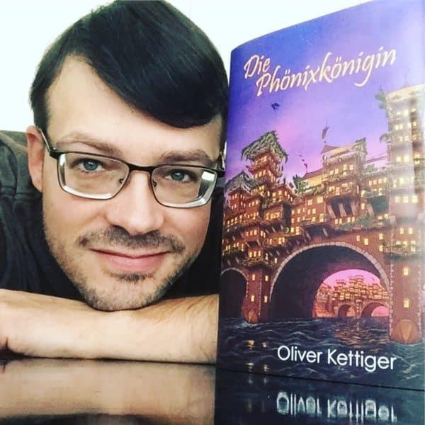 """Die Phönixkönigin Verlosung März 2018 Rezension """"Die Phönixkönigin"""" Oliver Kettiger"""