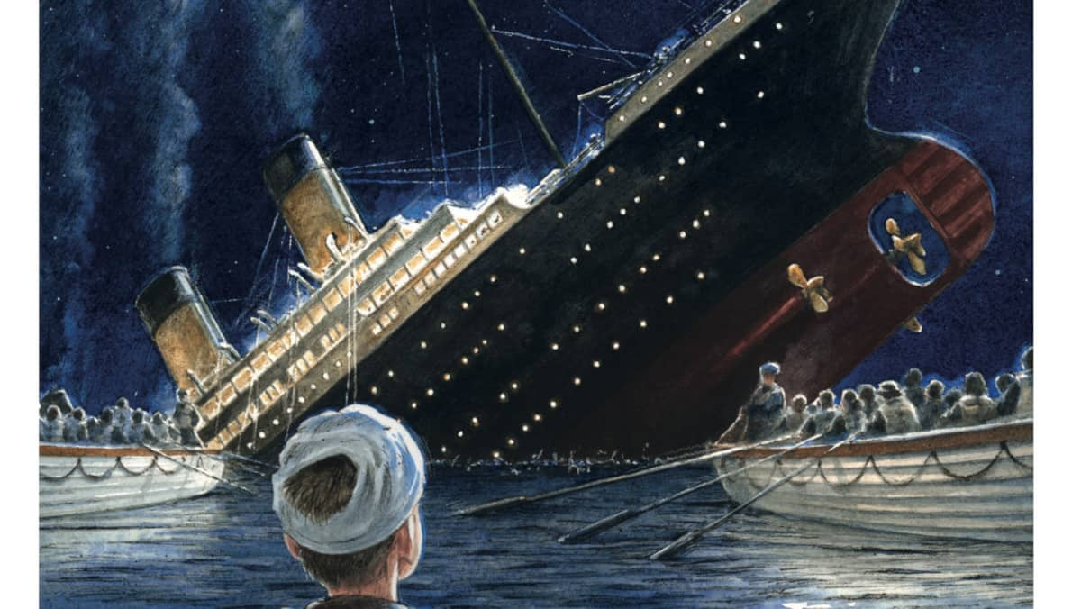 Titanic cover Stephen Davies