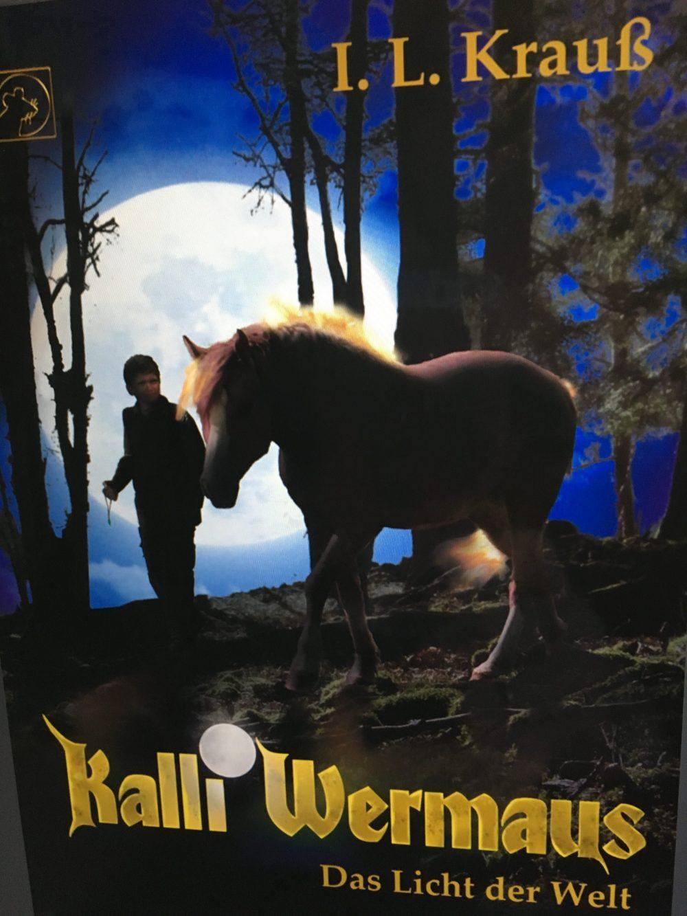 """""""Kalli Wermaus: Das Licht der Welt"""" Book Cover"""