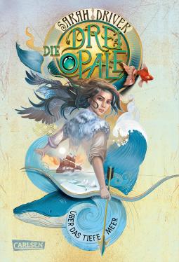 """Über das tiefe Meer"" Book Cover"
