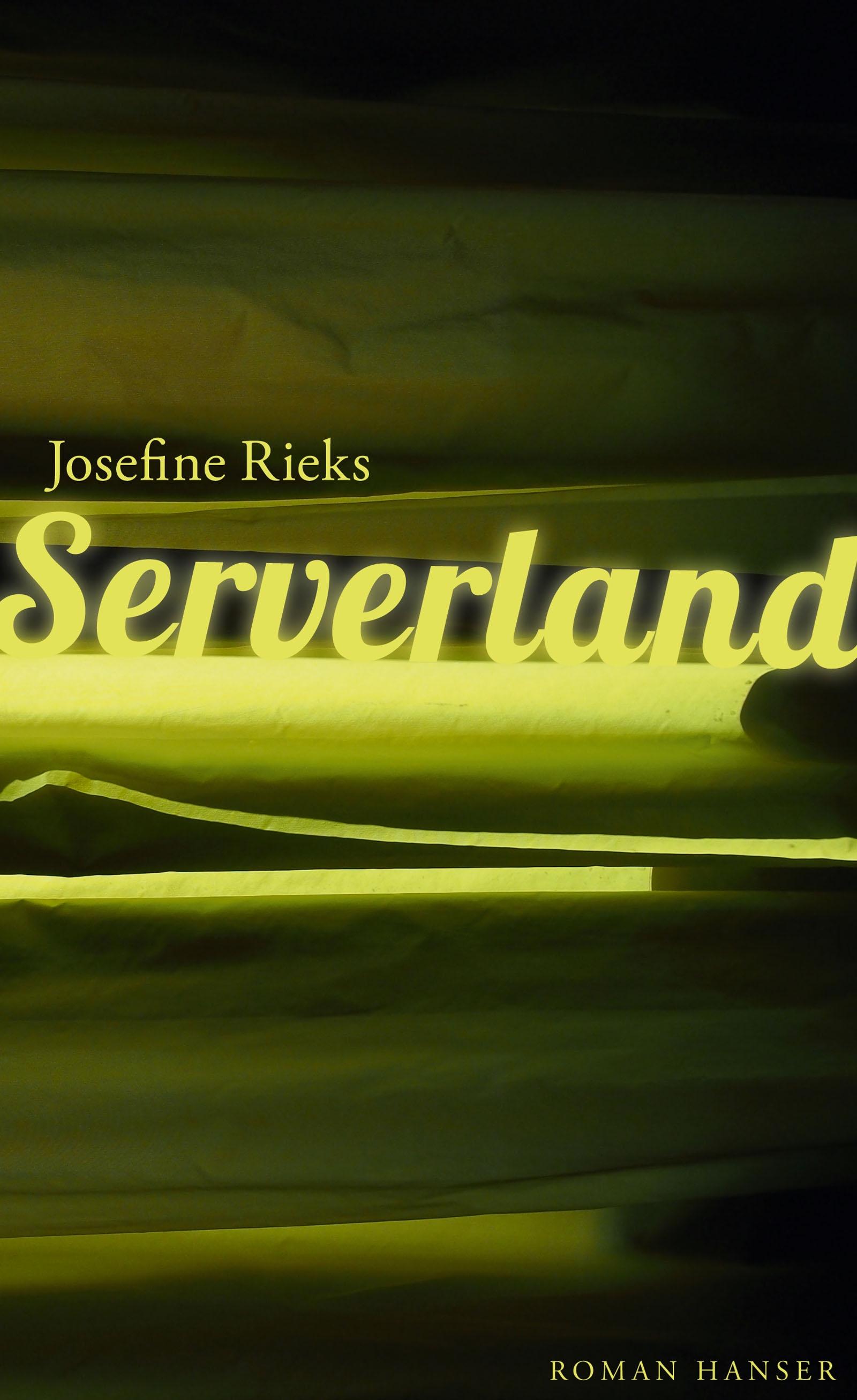 """""""Serverland"""" Book Cover"""