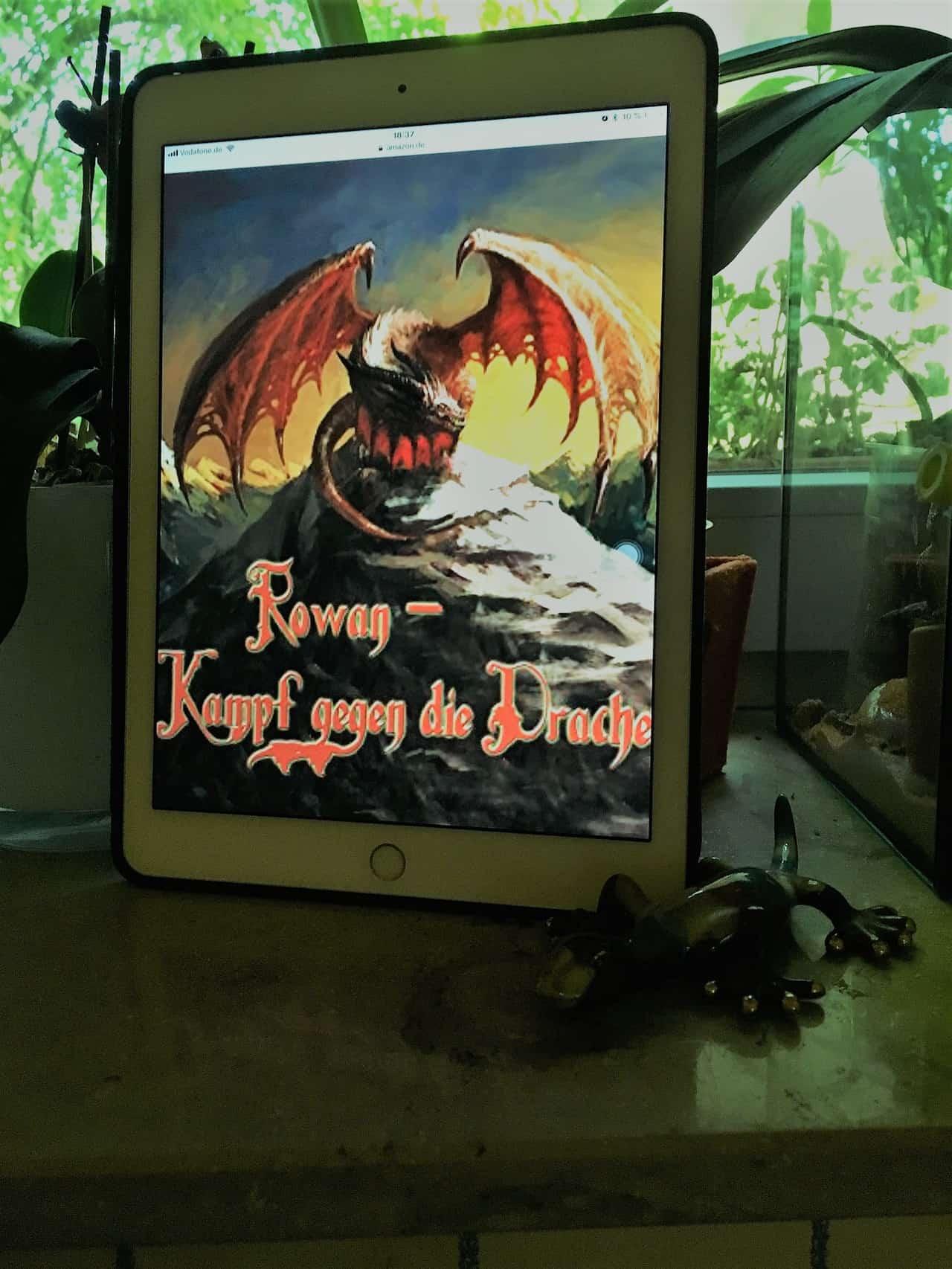Rowan - Kampf gegen die Drachen Annette Paul