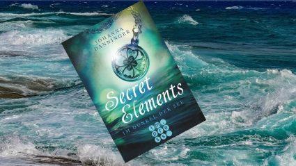 jugendbuch Secret Elements Meer türkis