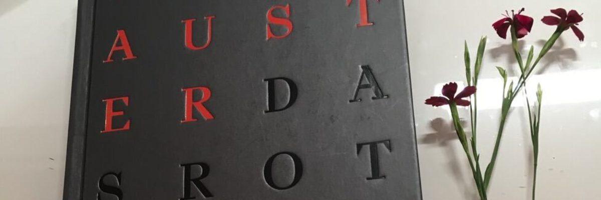 """""""Das rote Notizbuch"""" von Paul Auster"""