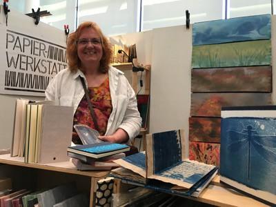 Buchkunstmesse Papierwerkstatt