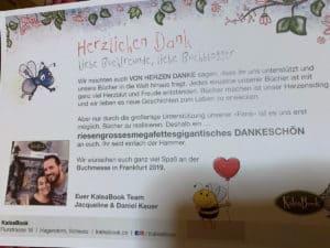 kaleabook Daknkeschön