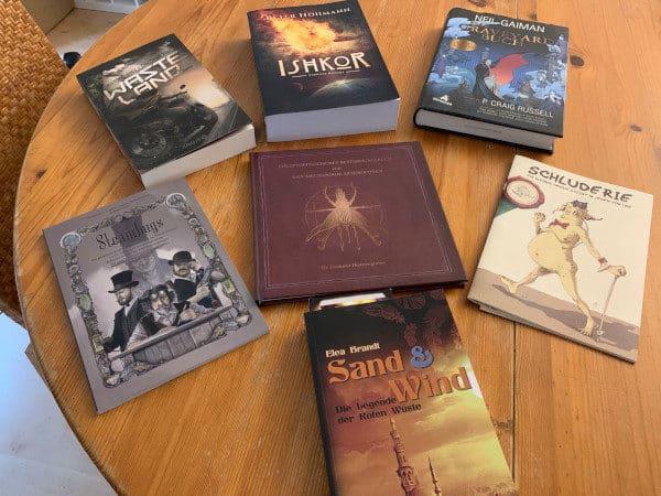 Bücherzuwachs