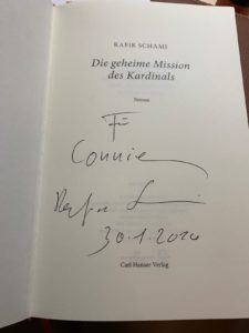 Rafik Schami Frankfurt Schauspiel Autogramm