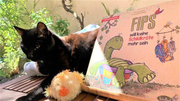 Fips möchte keine Schildkröte mehr sein - Titelbild