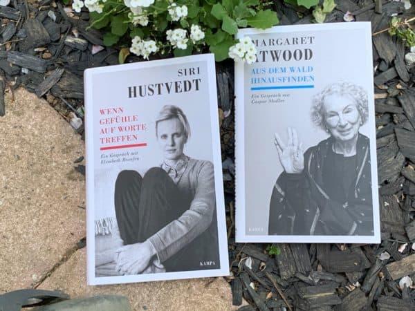 Margaret Atwood, Siri Hustvedt, aus der Kampa Salon Buchreihe, Lesen mit Corona