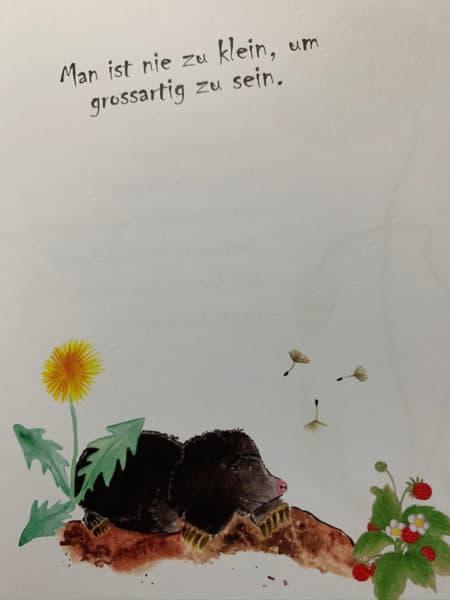Lana Minzeblatt - Man ist nie zu klein, um großartig zu sein