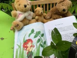 lana-Minzeblatt-Bärenfamilie