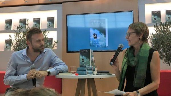 """Paolo Giordano - Frankfurter Buchmesse - beigefügt zu """"In Zeiten der Ansteckung"""