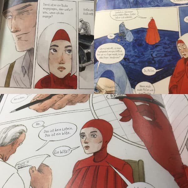 Der Report der Magd Graphic Novel 1