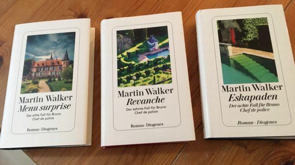 Die drei Bruno Romane vor Connaisseur