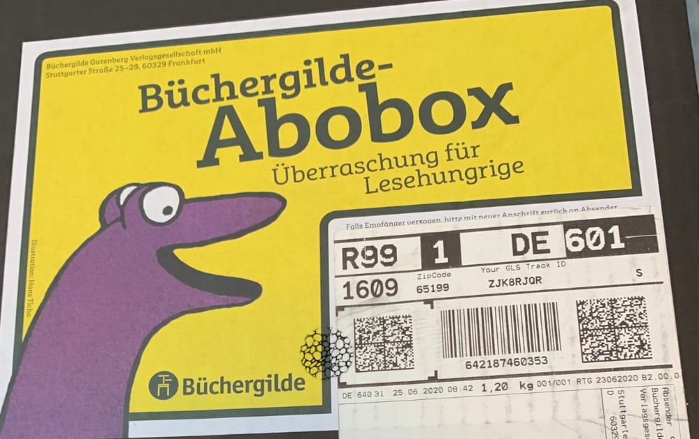 Büchergilde Abobox 3