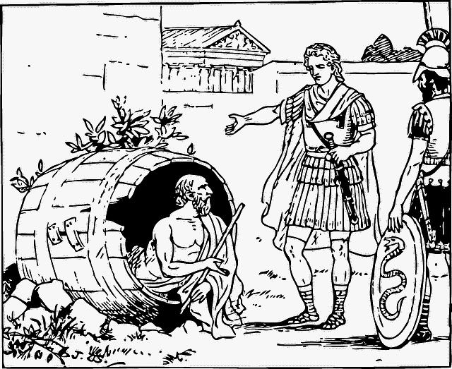 Diogenes von Sinope Philosophie