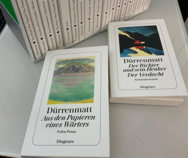 Gesamtwerk 19 20 Dürrenmatt Prosawerk Diogenes Ulrich Weber