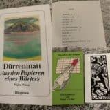 Wir lese Dürrenmatt-Lesetermine Februar und März