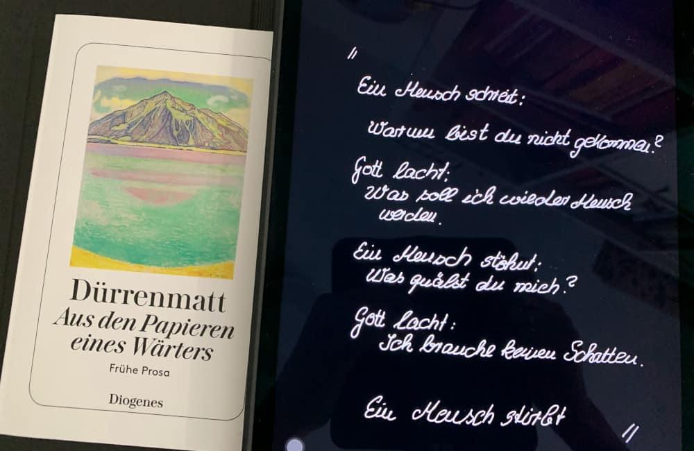 Der Folterknecht Friedrich Dürrenmatt Titelbild