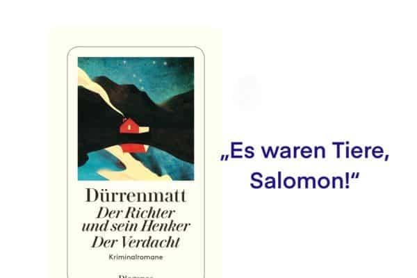 Rezension Der Verdacht Friedrich Dürrenmatt