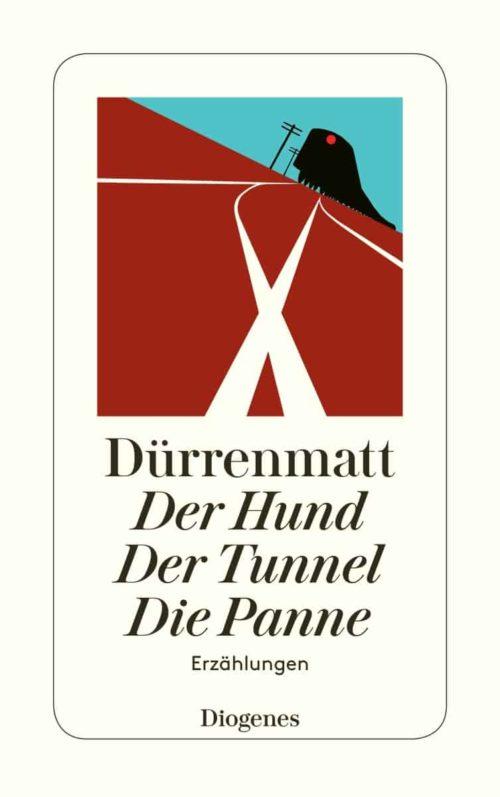 Werkausgabe 21 Erzählungen er Hund - Der Tunnel - Die Panne Friedrich Dürrenmatt Diogenes Pressebild