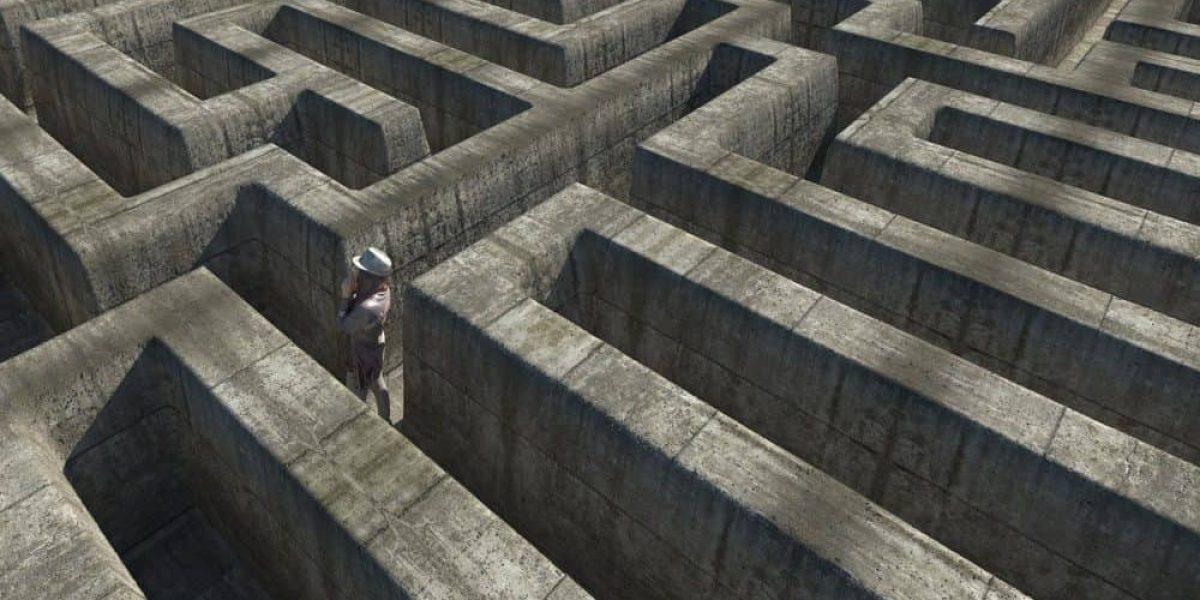 Connie Ruoff - Gefangen im Labyrinth